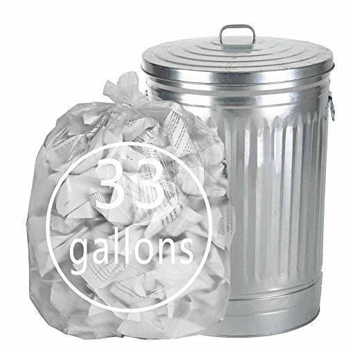 Tstorage 120 L Sacos Basura Bolsas de Basura de Plástico Tr