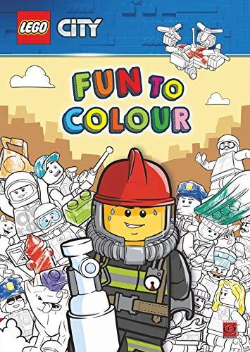 LEGO CITY DROLES DE COLORIAGES