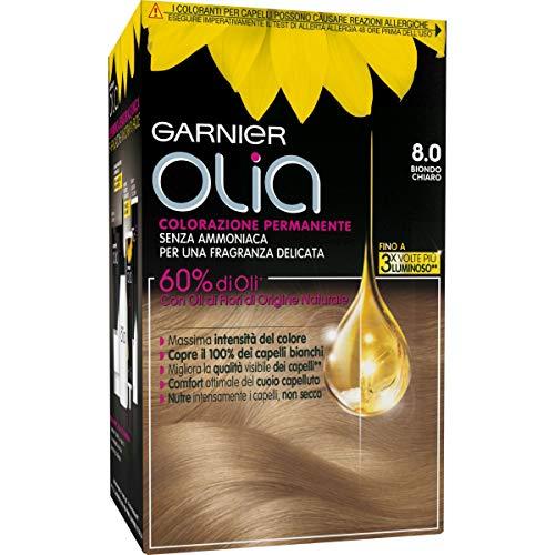 Olia Haarfarben N. 8,0 Hellblond