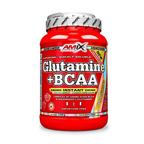 Amix Glutamina+Bcaa Mango 1000 G
