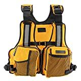 Fly Fishing Vest Pack Adjustable for Men Women Breathable for Sailing Kayak
