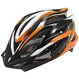casco integral mtb naranja