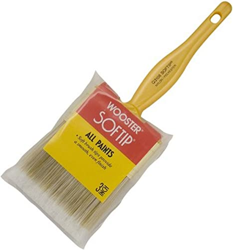 lowest Wooster online Brush Q3108-3 Softip Paintbrush, 3-Inch, White, Pack outlet sale of 2 outlet sale