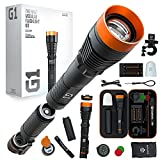DanForce Rechargeable LED Flashlight - Worldwide Patent, Gift Idea for Him or Her, Tactical FlashLight, World's First Modular Flashlight, High-Power 1080 Lumens, (G1)