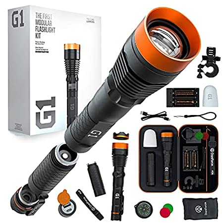 DanForce G1 rechargeable LED Flashlight