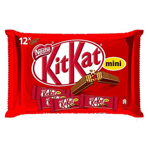Nestlé Kitkat Mini Chocolate con Leche Barritas de Chocolate con Leche, 200g