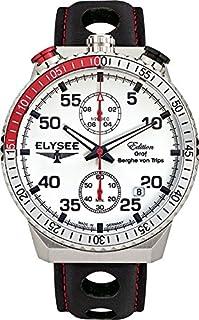 ELYSEE Men's 80516MM Graf Berghe von Trips Analog Display Quartz Black Watch