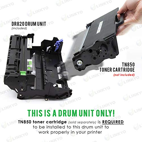 LINKYO Compatible Drum Unit Replacement for Brother DR820 DR-820 Photo #7