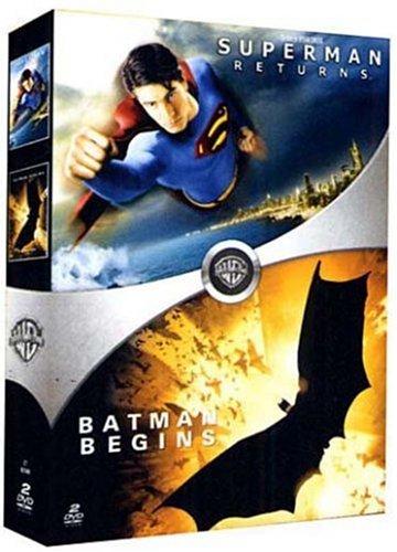 Superman Returns + Batman Begins [Francia] [DVD]