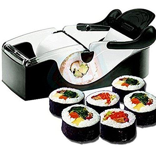Perfekte Sushi-Rollenmaschine und die Langlebigkeit Fahrer des Gerätes Rolls-Gadget Küche DIY Schwarz