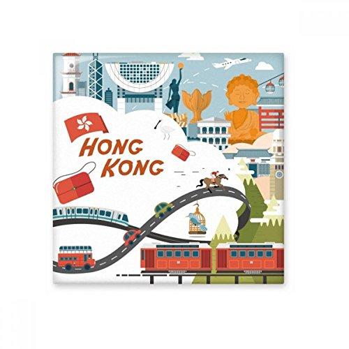Hong Kong Beroemde Cartoon Plaatsen Keramische Bisque Tegels Badkamer Decor Keuken Keramische Tegels Wandtegels L