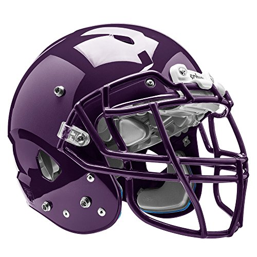 Schutt Sports Vengeance VTD II Football Helm ohne Rothko and Frost Deckenschoner, violett