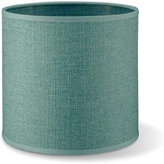 Pantalla redonda | Canvas | Pantalla de lámpara | Pantalla de forma recta | diámetro de 16 cm altura de 15 cm |
