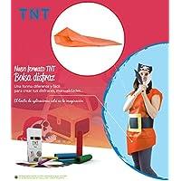 Pryse 5075123 - Pack de 25 bolsas para disfraz, 65 x 90 cm, Color Naranja
