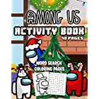 Among Us Activity Book: Among-Us Coloring pages and among us word search, Perfect gift for Among Us Game Players, Gift For Christmas