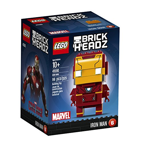 LEGO BrickHeadz Iron man Kit 41590 edificio