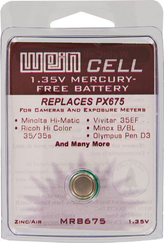 Battery, WEIN Cell PX675 Replacement Box of 12