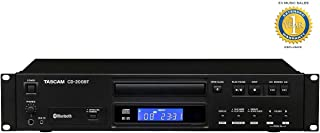 Tascam CD-200BT CD and Bluetooth Player with 1 Year Free Extended Warranty