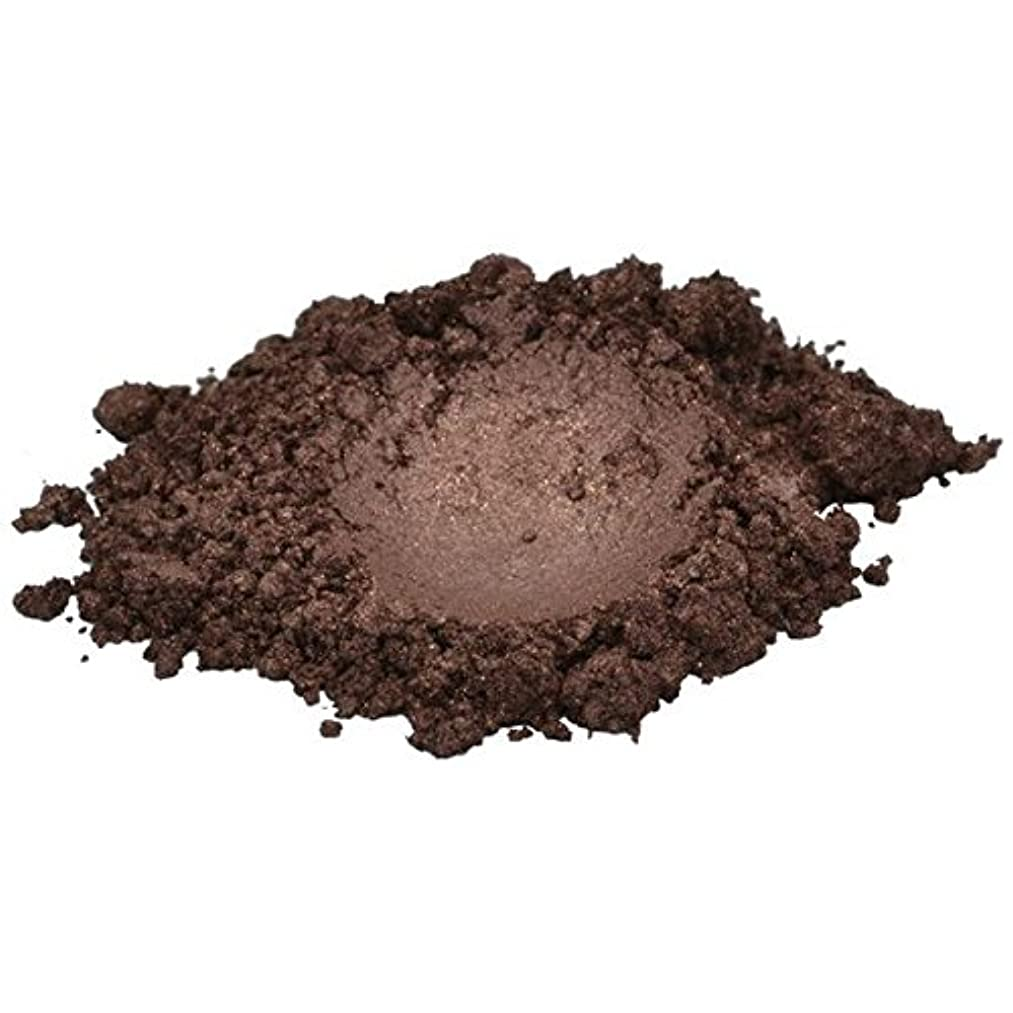 H&B Oils Center Co. Swiss Chocolate/Dark Brown Luxury Mica Colorant Pigment Powder Cosmetic Grade Glitter Eyeshadow Effects for Soap Candle Nail Polish 1 oz