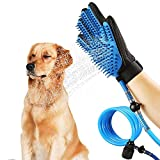 Mixen PET Shower Sprayer Free Silicone Grooming Glove with Every Kit for Dogs and Cats (Medium, Multicolour)