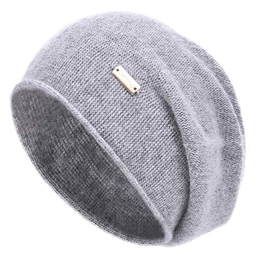 jaxmonoy Cashmere Slouchy Knit Bean…