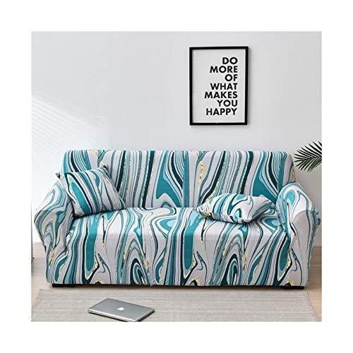 Cubierta de sofá de estiramiento, sofá elásticos Cubiertas para sala de estar, Sofá Muebles Protector Fundas Sofás Con Chaise Longue 1pc ( Color : Color 31 , Specification : 1 seat 90 140cm )