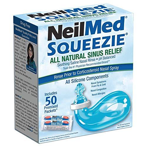 Syst/ème de lavage nasal pour rin/çage nasal Neti Pot Irrigation sinusale nettoyant pour nettoyant complet pour le nettoyage des sinus Soulagement de lirrigation fghfhfgjdfj