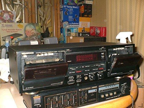 KENWOOD Duel Cassette Stereo Recorder Model KX-W6040