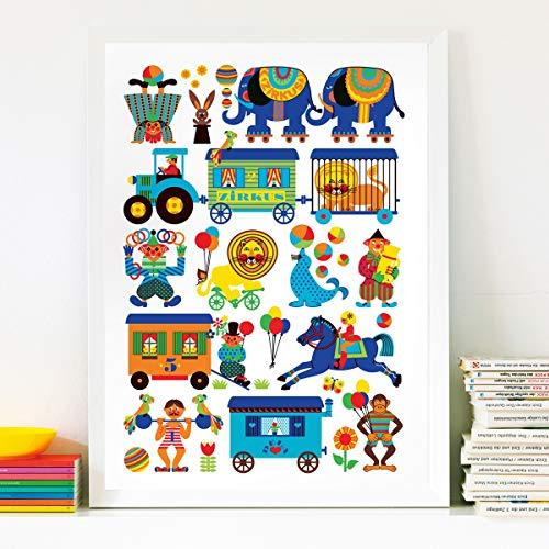 byGraziela Zirkus Poster