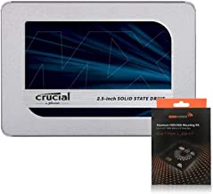 """Special Bundle - Crucial CT500MX500SSD1 MX500 500GB 2.5"""" SSD + AAAwave Aluminum HDD/SSD Mounting Kit"""