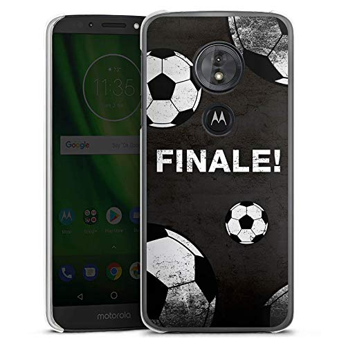 DeinDesign Motorola Moto G6 Play Hülle Case Handyhülle Ball Fussball Football