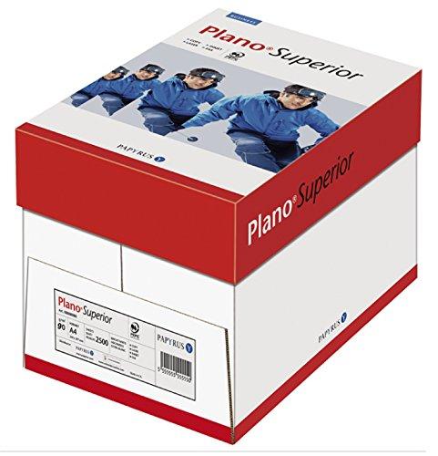 Papyrus 88026780 Druckerpapier PlanoSuperior 90 g/m², A4, 5x500 Blatt, hochweißes Premium Kopierpapier