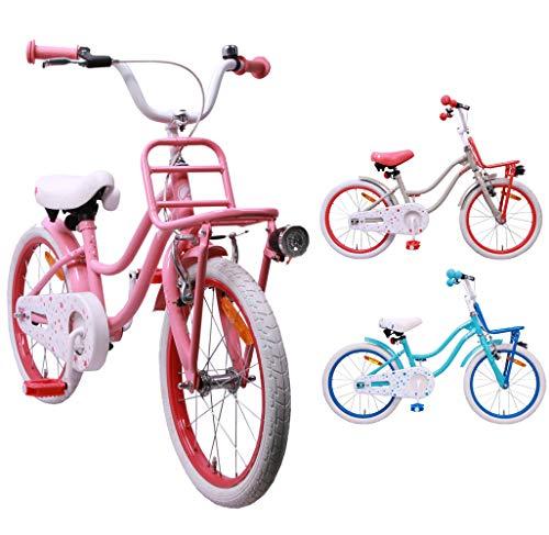 AMIGO - Superstar - Bicicletta Bambini - 18'' (per 5-8 Anni) - Rosa