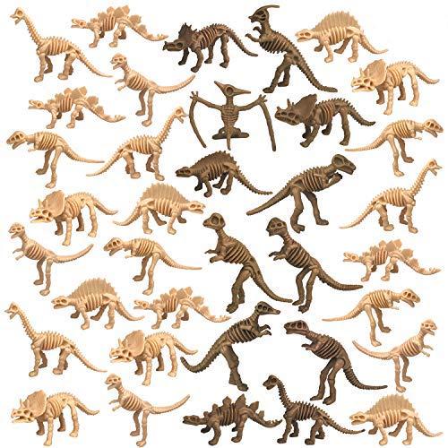 36 pezzi dinosauro fossile schelette dinosauro giocattolo diversi personaggi Dino Osso per Dino Sabbia Dig Scienza Giocattoli Decorazione