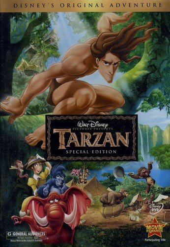 Disney DVDs from $3.99 **Tarzan, Cinderella, and More**