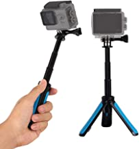 walking stick with tripod mount