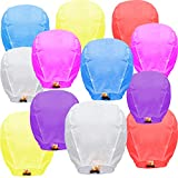 Best Sky Lanterns - Sky Lanterns 12-Pack Multicolour Wire-Free Flying Chinese Lanterns Review