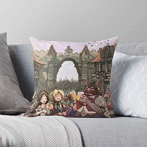 Party Manga Garnet Vivi Eiko Yitan Anime Zidane Pillow Case Cotton Polyester The Most Impressive product image
