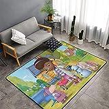 Doc McStuffins Carpet,Super Soft Area Carpet,Home Decoration Carpet,Suitable for Bedroom,Living Room and Dining Room Carpet 60x39 Inches