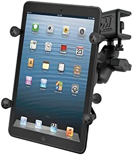 RAM MOUNTS (RAM-B-177-UN8U Glare Shield Clamp Mount with Universal X-Grip Ii Holder for 7