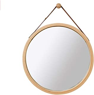 MXD Mirror Bathroom Mirror Wall Hanging Mirror Round Mirror Decorative Hanging Mirror (Size : S)