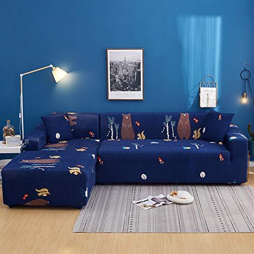 ASPZQ Elastic Faule Sofa-Abdeckung Cover Universal All-Inclusive Stoff Sofakissen Full Cover Sofa Handtuch,P,Four seat