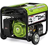 All Power America APG3590CN 10000 Watt Propane Portable Generator w/Electric Start for Home Backup...