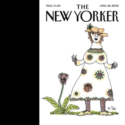 The New Yorker, April 28, 2008 audiobook cover art