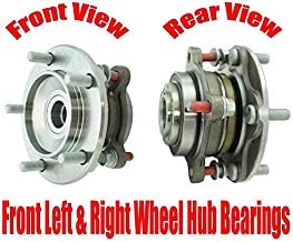 Front Left & Right Wheel Hub Bearings for Toyota Tundra Rear Wheel Drive 07-18