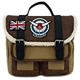 Loungefly Overwatch Tracer Distressed Faux Leather Crossbod Standard