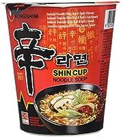 NONGSHIM Nouilles Cup Instantanées Shin Ramyun 12 x 68 g 1 Unité