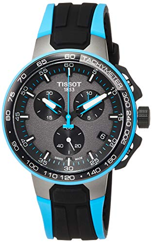 Tissot T-RACE CYCLING LIGHTBLUE SILIK T111.417.37.441.05 Cronografo uomo