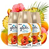 Glade Automatic Spray Refill, Air Freshener for Home and Bathroom, Hawaiian Breeze, 6.2 Oz, Pack of 3