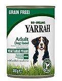 Yarrah 288 - Juego de alimentos para perros veganos sin cereales con cranberries 380 g